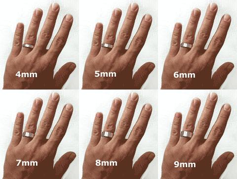 Mens 5mm Wedding Band 0 Ideal